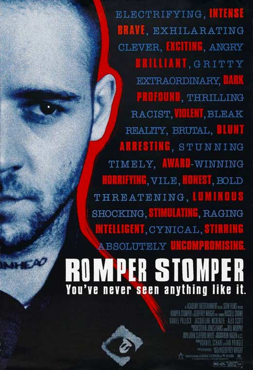 Film poster for Romper Stomper