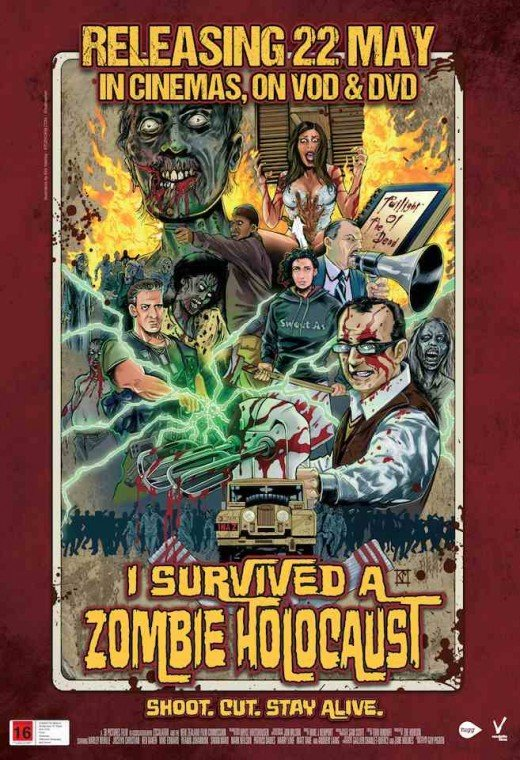Movie poster for I Survived a Zombie Holocaust