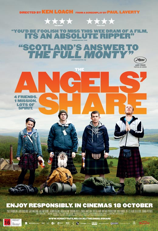 Movie poster for The Angels Share