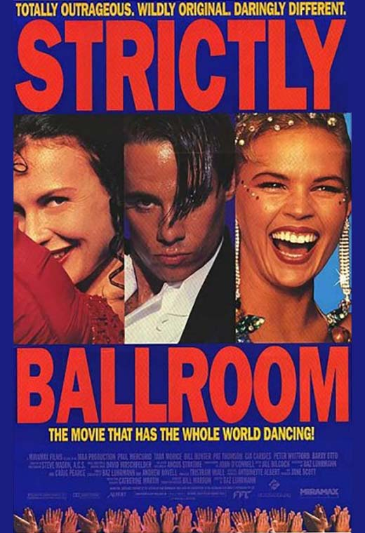 The poster for Strictly Ballroom.