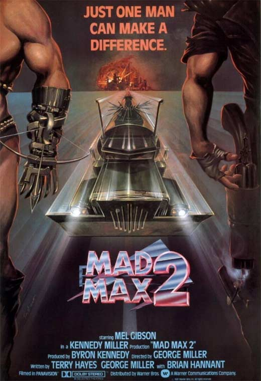Movie poster for Mad Max 2